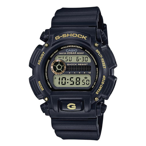 Casio G-Shock Special Color Models Black Resin Band Watch DW9052GBX-1A9 DW-9052GBX-1A9
