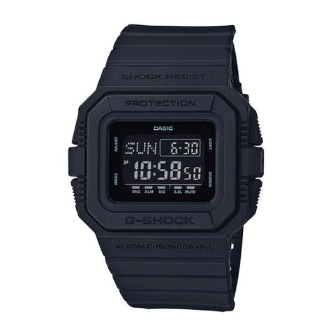 Casio G-Shock Special Color Models Matte Black Resin Watch DWD5500BB-1D DW-D5500BB-1D DW-D5500BB-1