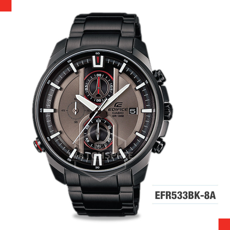 Casio Edifice Watch EFR533BK-8A