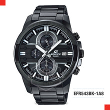 Load image into Gallery viewer, Casio Edifice Watch EFR543BK-1A8