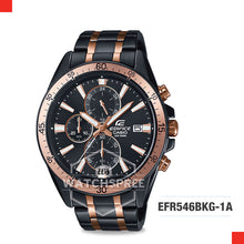 Load image into Gallery viewer, Casio Edifice Watch EFR546BKG-1A