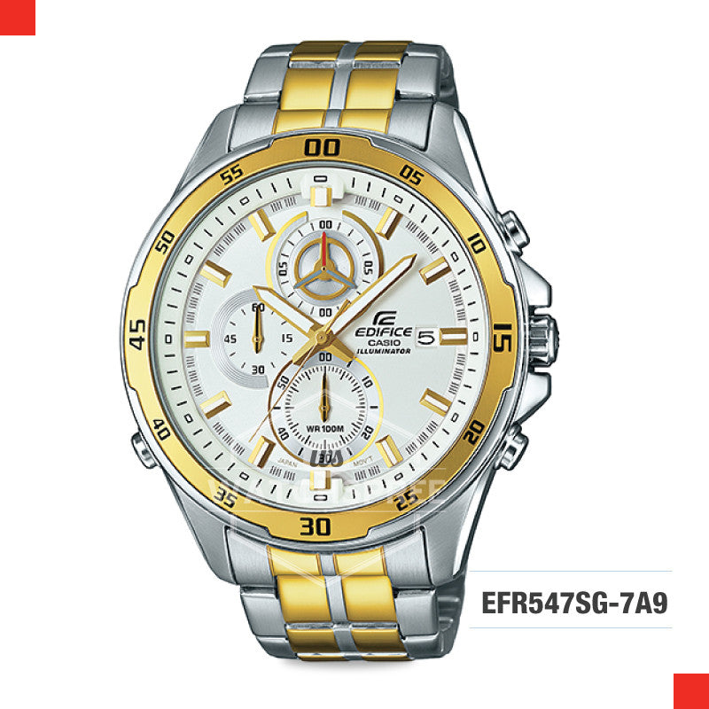 Casio Edifice Watch EFR547SG-7A9