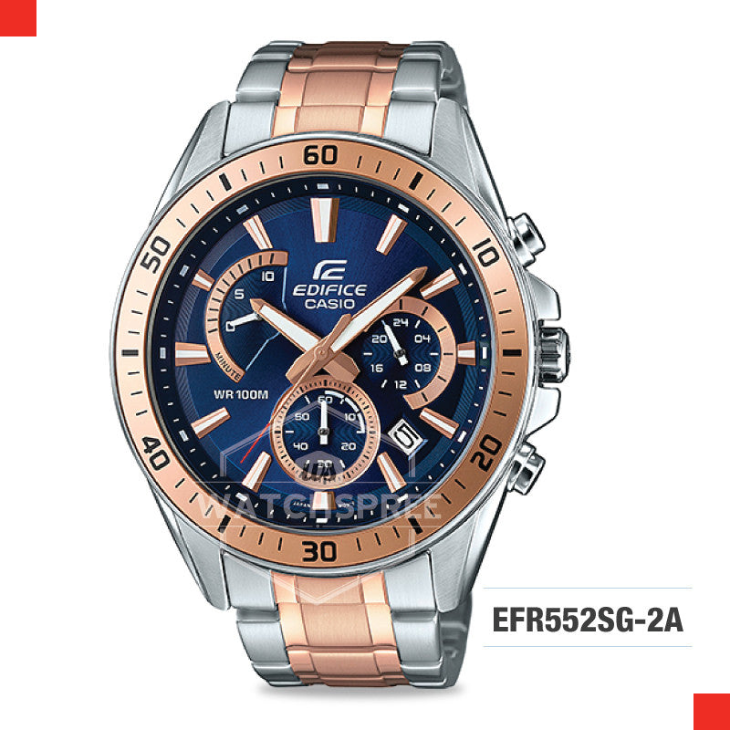 Casio Edifice Watch EFR552SG-2A