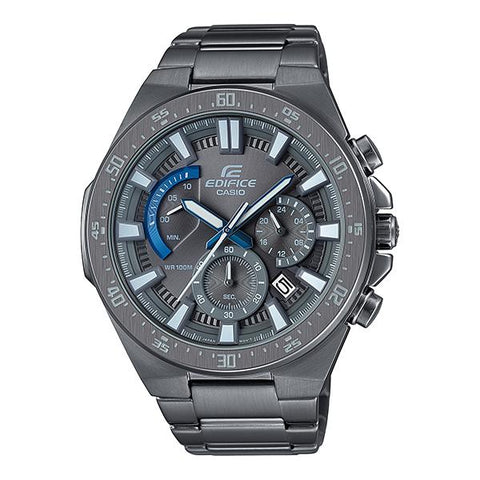 Casio Edifice Standard Chronograph Gray Ion Plated Stainless Steel Band Watch EFR563GY-1A EFR-563GY-1A