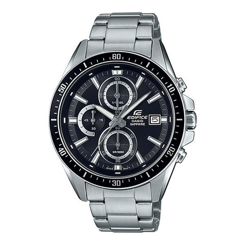 Casio Edifice Standard Chronograph Silver Stainless Steel Band Watch EFRS565D-1A EFR-S565D-1A