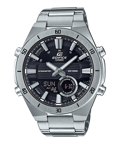 Casio Edifice Standard Chronograph Silver Stainless Steel Band Watch ERA110D-1A ERA-110D-1A