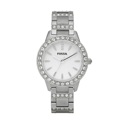Fossil Ladies' Jesse Stainless Steel Band Watch ES2362