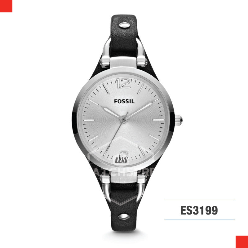 Fossil Ladies Georgia Leather Watch ES3199