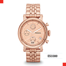 Load image into Gallery viewer, Fossil Ladies Chelsey Multifunction Stainless Steel Strap Watch ES3380