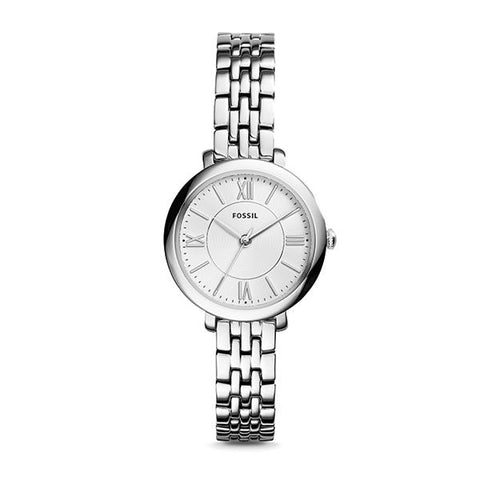 Fossil Ladies' Jacqueline Mini Stainless Steel Watch ES3797