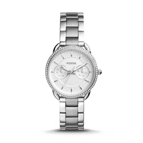 Fossil Ladies' Tailor Multifunction Stainless Steel Watch ES4262