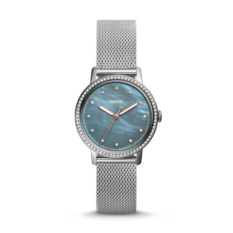 Fossil Ladies' Neely Three-Hand Stainless Steel Watch ES4313