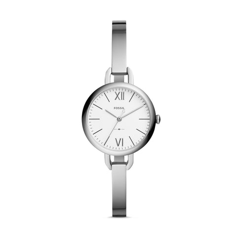 Fossil Ladies' Annette Three-Hand Stainless Steel Watch ES4390