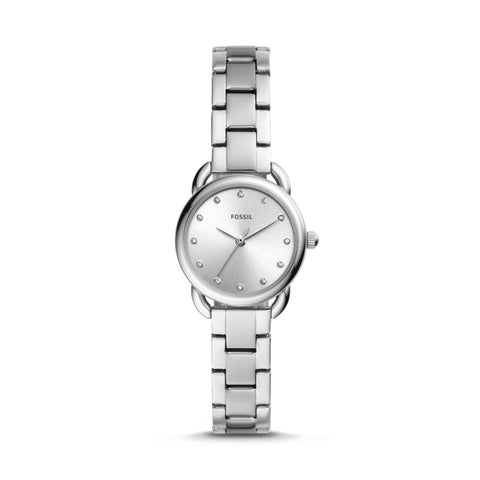 Fossil Ladies' Tailor Mini Three-hand Stainless Steel Watch ES4496