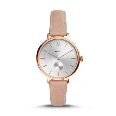 Fossil Ladies' Kalya Three-Hand Nude Leather Watch ES4572