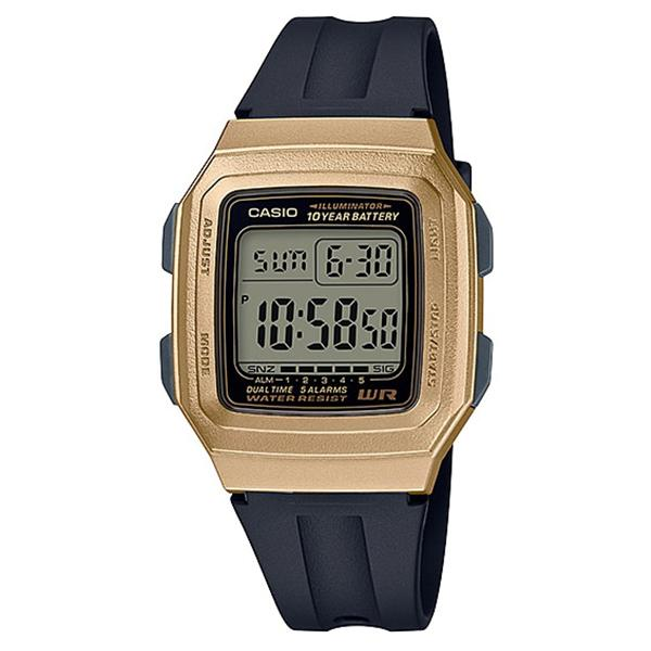 Casio Standard Digital Black Resin Band Watch F201WAM-9A F-201WAM-9A