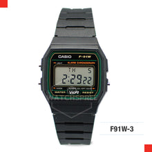 Load image into Gallery viewer, Casio Sports Watch F91W-3S