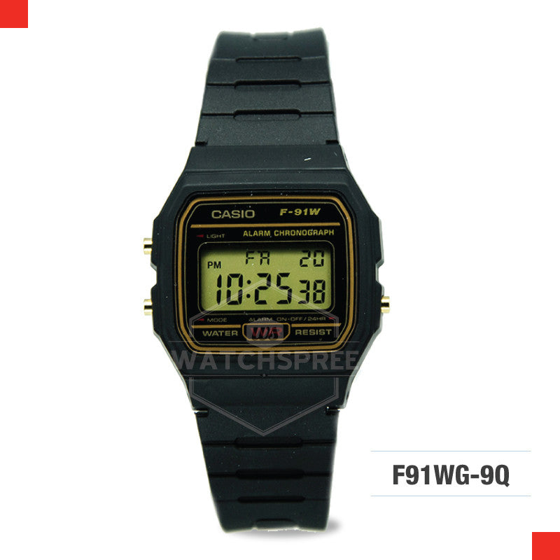 Casio Sports Watch F91WG-9S
