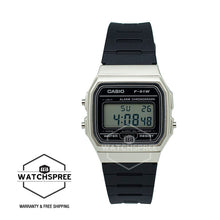 Load image into Gallery viewer, Casio Standard Digital Black Resin Band Watch F91WM-7A
