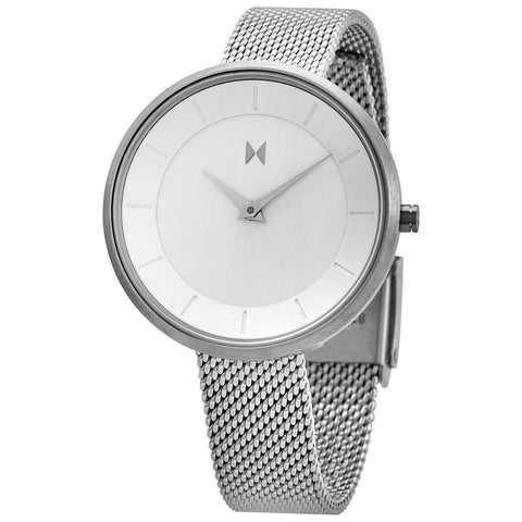 MVMT MOD Quartz Silver Dial 32 mm Ladies Watch FB01-S