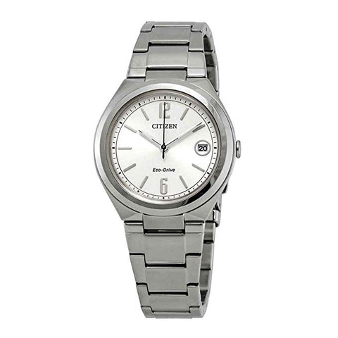 Citizen Chandler Eco-Drive Silver Dial 34 mm Ladies Watch FE6021-88A [Pre-order]