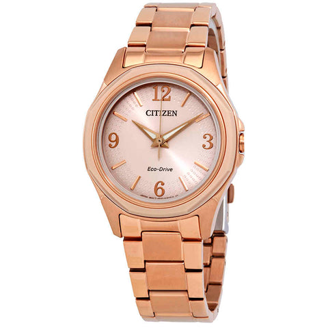 Citizen AR Eco-Drive Pink Dial 35 mm Ladies Watch FE7053-51X