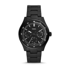 Load image into Gallery viewer, Fossil Men's Belmar Multifunction Black Stainless Steel Watch FS5576
