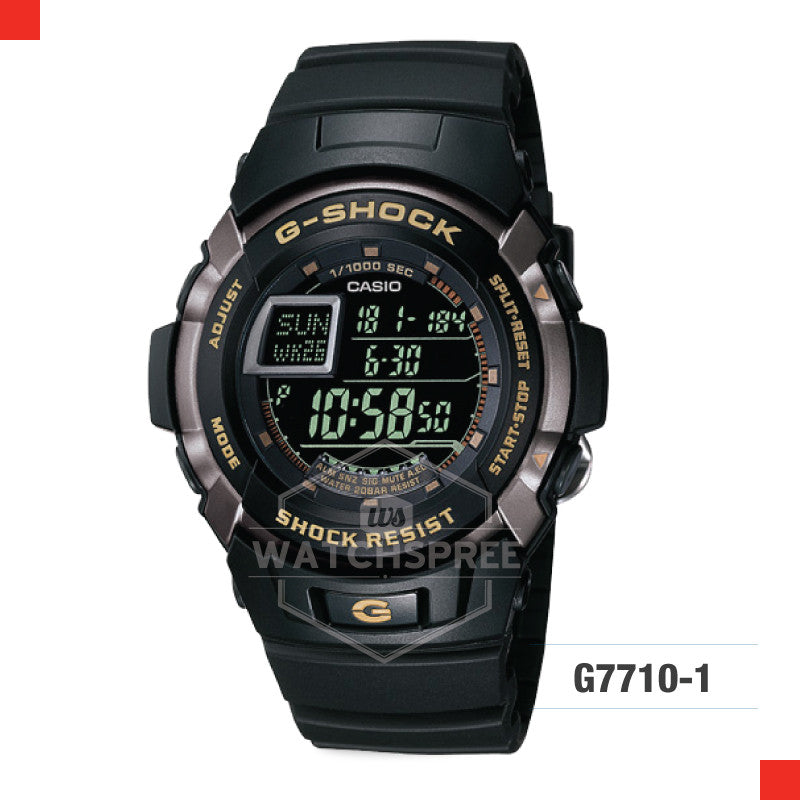 Casio G-Shock Classic Watch G7710-1D