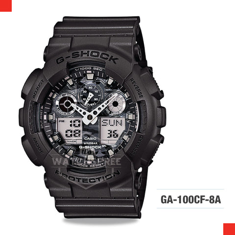 Casio G-Shock Extra Large Series Camouflage Watch GA100CF-8A