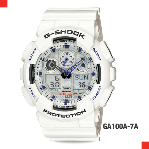 Casio G-Shock Extra Large Series Watch GA100A-7A