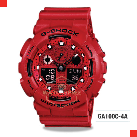 Casio G-Shock Extra Large Series Watch GA100C-4A