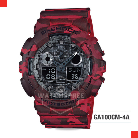 Casio G-Shock Extra Large Series Camouflage Watch GA100CM-4A