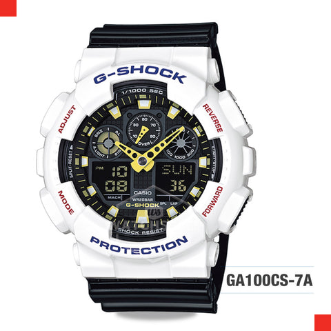 Casio G-Shock Extra Large Series Watch GA100CS-7A