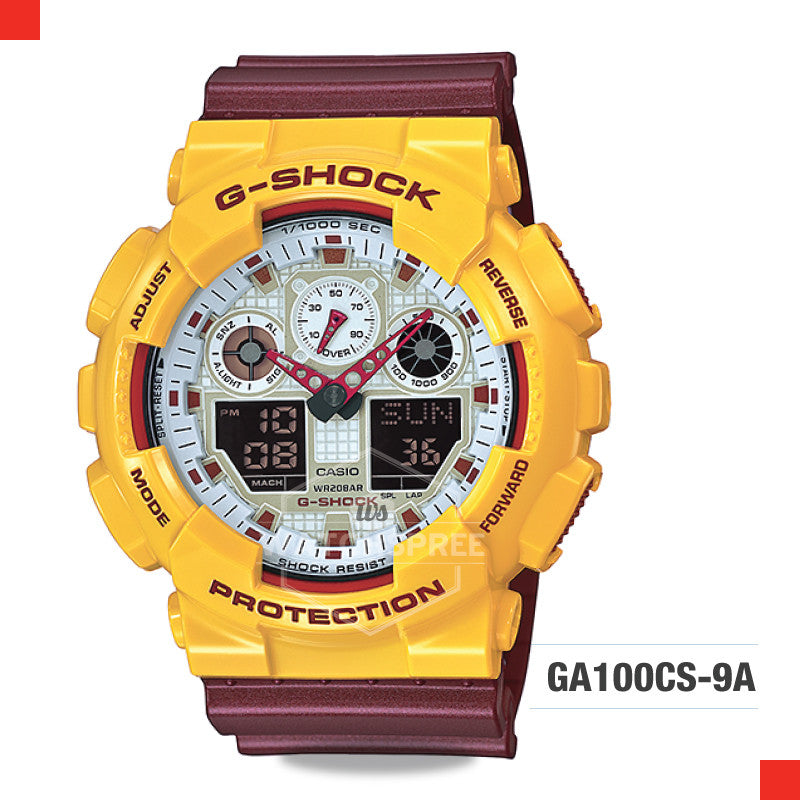 Casio G-Shock Extra Large Series Watch GA100CS-9A