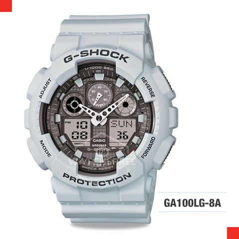 Casio G-Shock Extra Large Series Watch GA100LG-8A