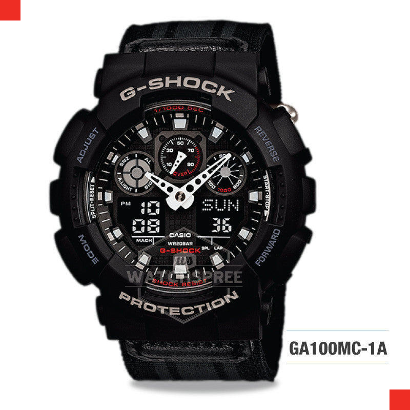 Casio G-Shock Extra Large Series Watch GA100MC-1A