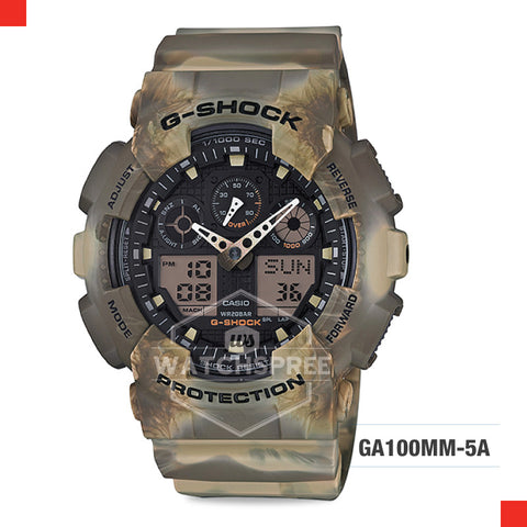 Casio G-Shock Extra Large Series Watch GA100MM-5A