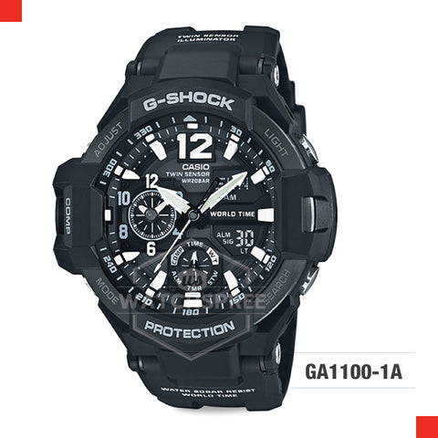 Casio G-Shock Master of G Gravitymaster Watch GA1100-1A