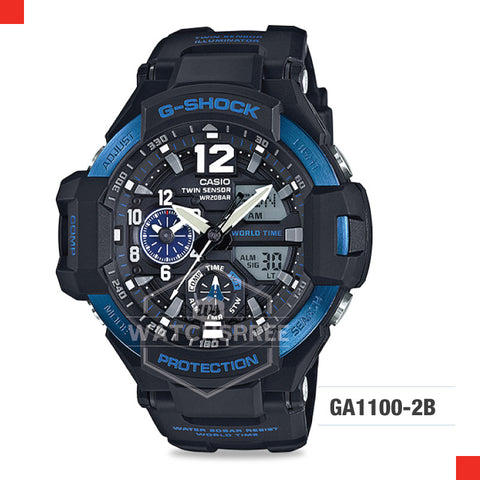 Casio G-Shock Master of G Gravitymaster Watch GA1100-2B