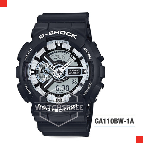 Casio G-Shock Extra Large Series Watch GA110BW-1A