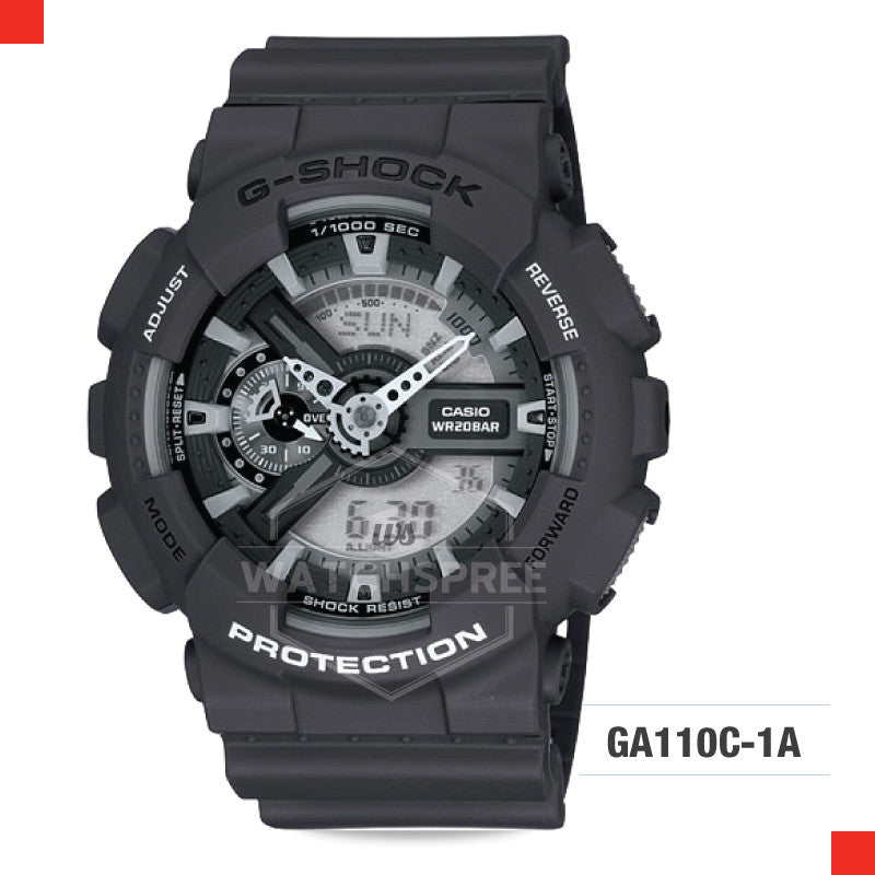Casio G-Shock Extra Large Series Watch GA110C-1A