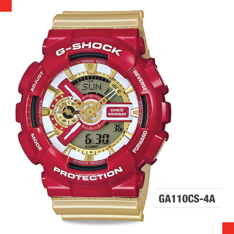 Casio G-Shock Extra Large Series Camouflage Watch GA110CS-4A
