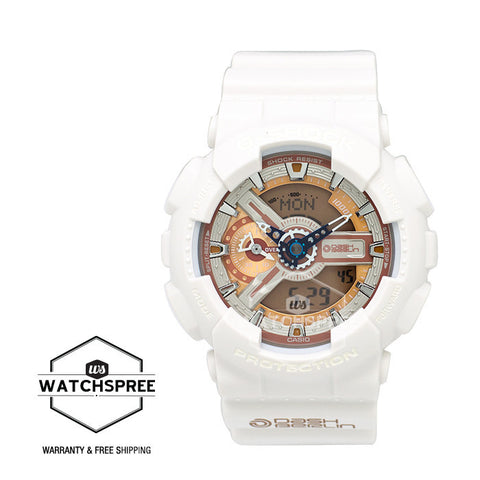 Casio G-Shock x Dutch DJ Dash Berlin Collaboration White Resin Band Watch GA110DB-7A