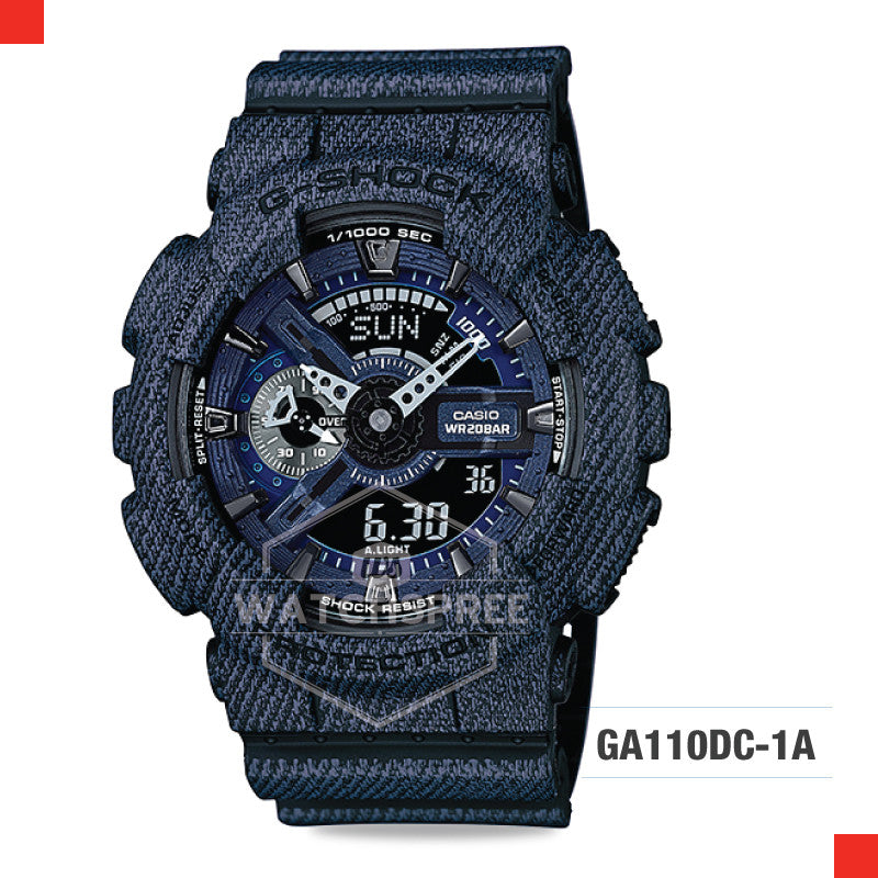Casio G-Shock Extra Large Series Camouflage Watch GA110DC-1A
