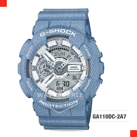 Casio G-Shock Extra Large Series Camouflage Watch GA110DC-2A7