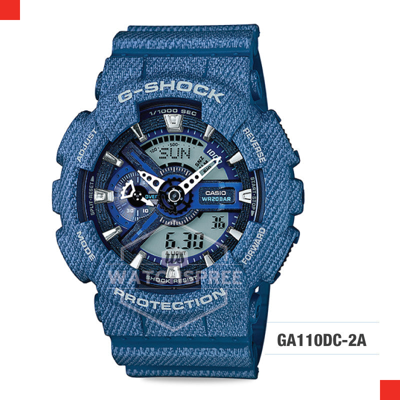 Casio G-Shock Extra Large Series Camouflage Watch GA110DC-2A