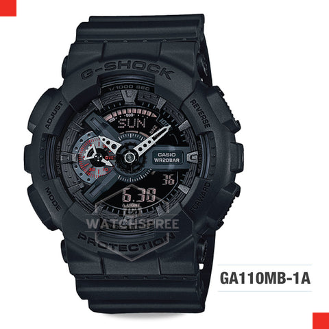 Casio G-Shock Extra Large Series Watch GA110MB-1A
