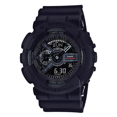 35TH ANNIVERSARY LIMITED MODEL Casio G-Shock BIG BANG BLACK Series Black Resin Band Watch GA135A-1A GA-135A-1A