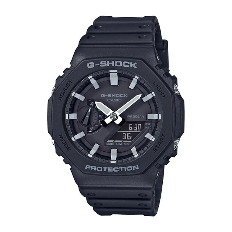 Casio G-Shock Carbon Core Guard Structure Black Resin Band Watch GA2100-1A GA-2100-1A