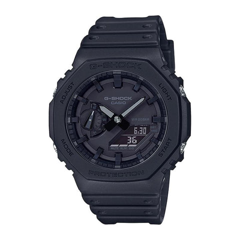 Casio G-Shock Carbon Core Guard Structure Black Resin Band Watch GA2100-1A1 GA-2100-1A1